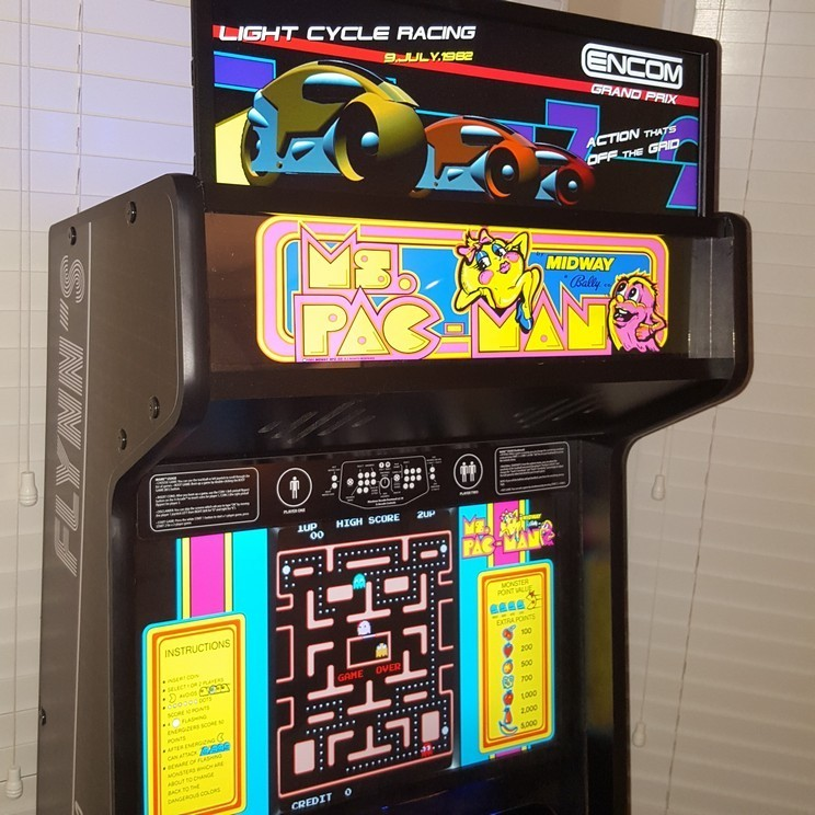 Quot Flynn S Quot Arcade Cabinet Build My First Cabinets And