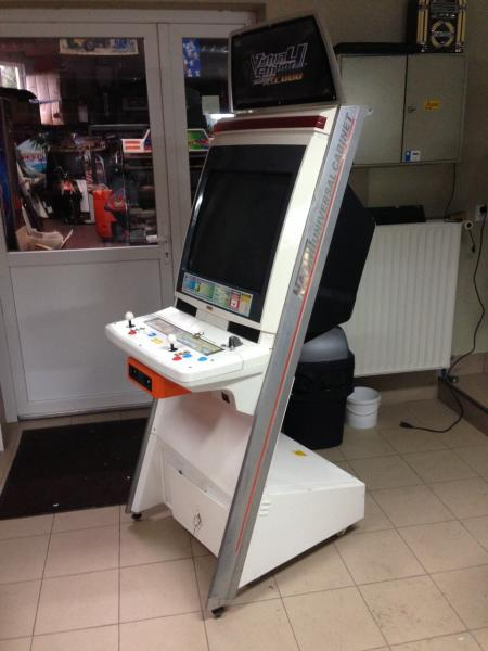 Naomi Universal Candy Cabinet rebuild to Mame Cab - Cabinets and ...