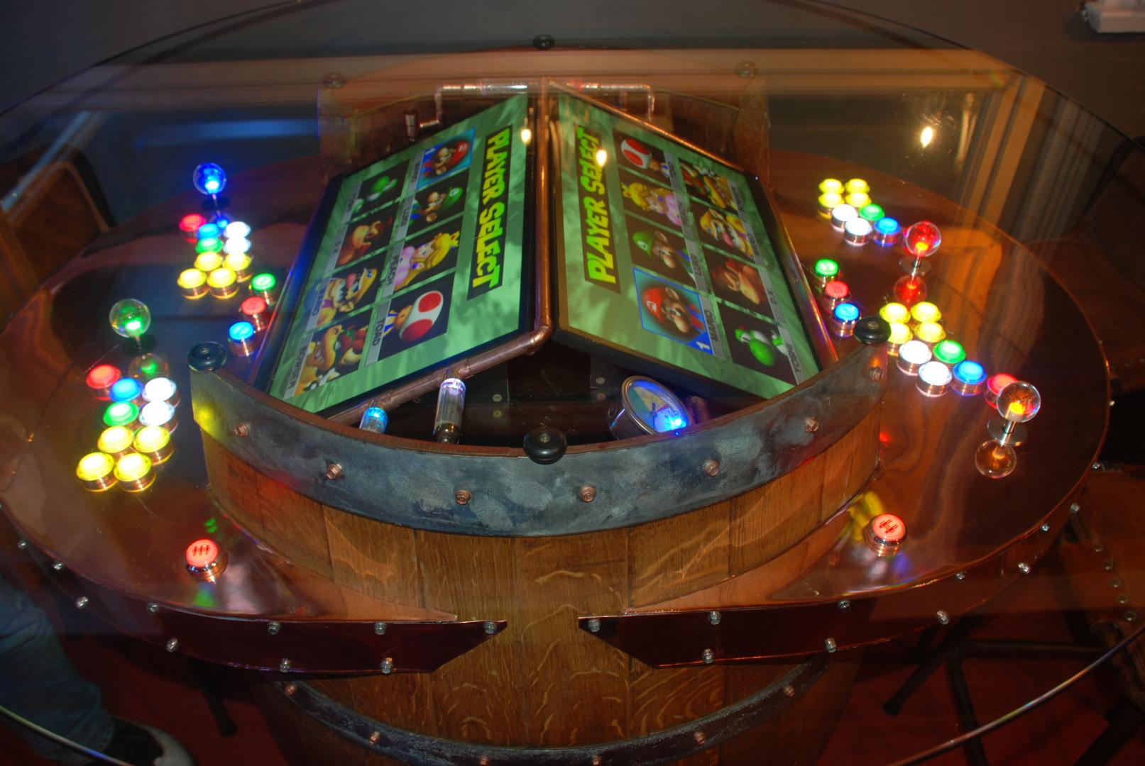 Epic Wine Barrel Arcade Machine Cabinets And Projects