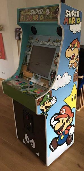 Ma borne d 39 arcade maison nos projets borne d 39 arcade - Borne d arcade maison ...