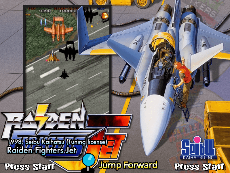 Raiden Fighters Jet Rfjet Mame Game Themes 4 3 Hyperspin Forum