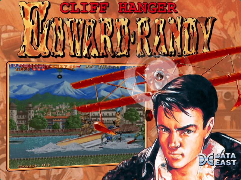 Cliff hanger mame