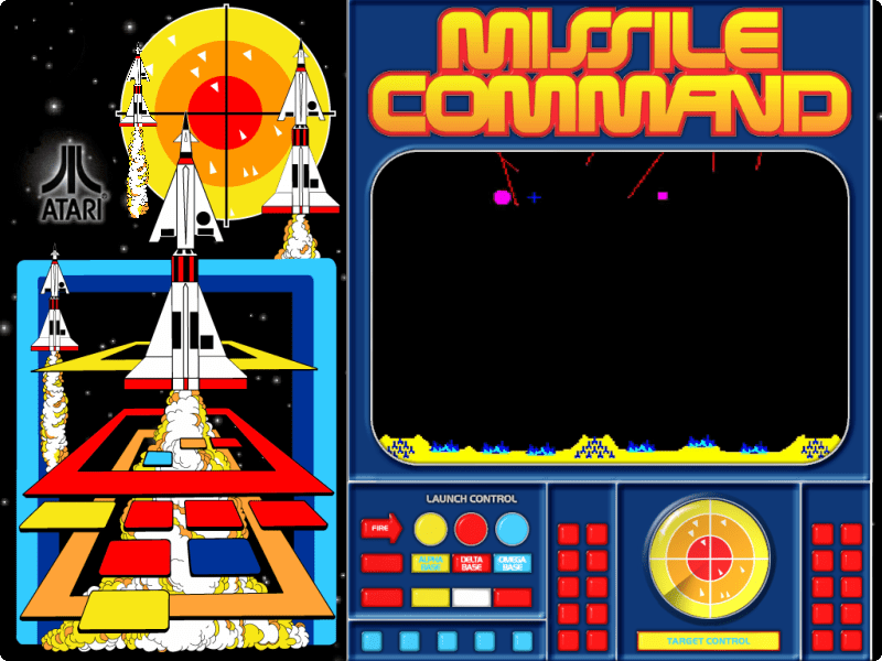 mame missile command