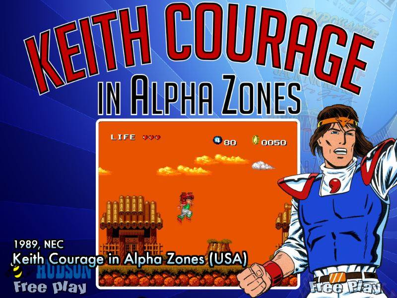 Keith Courage in Alpha Zones (USA) (TG16) - Game Themes - HyperSpin Forum