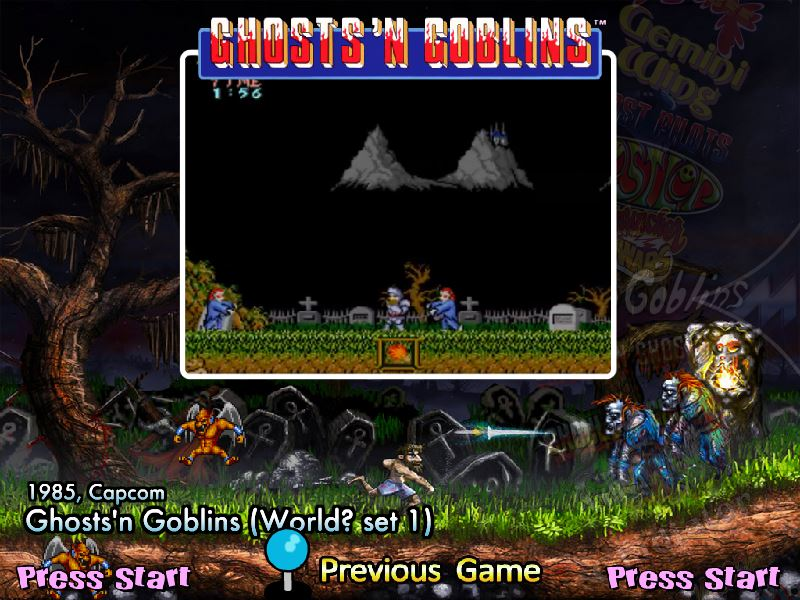 Ghosts 'n Goblins (World? set 1) - gng (MAME) - Game Themes