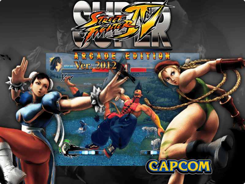 Super Street Fighter IV AE (V  2012) - (Taito Type X) - Game