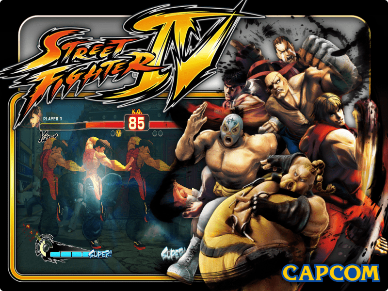 Street Fighter IV - (Taito Type X) - Game Themes (4:3