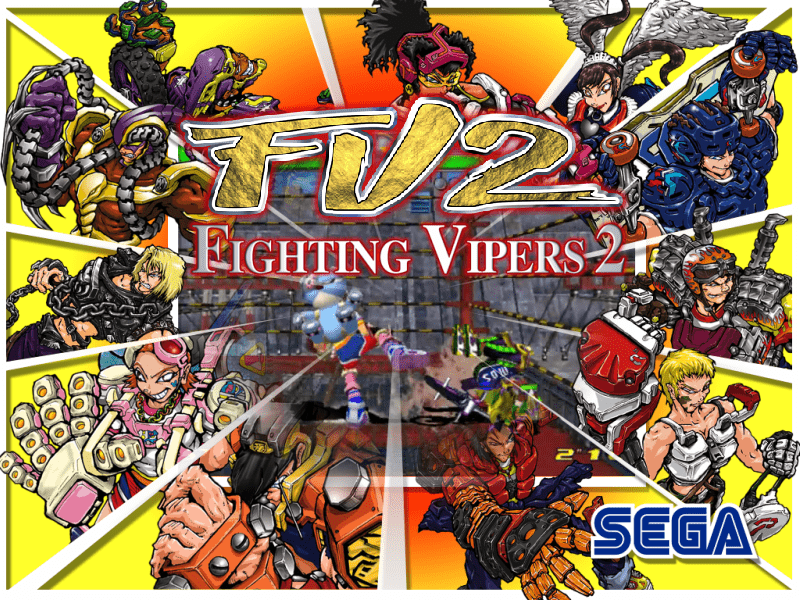 Fighting Vipers 2 - fvipers2 (Model 3) - Game Themes (4:3