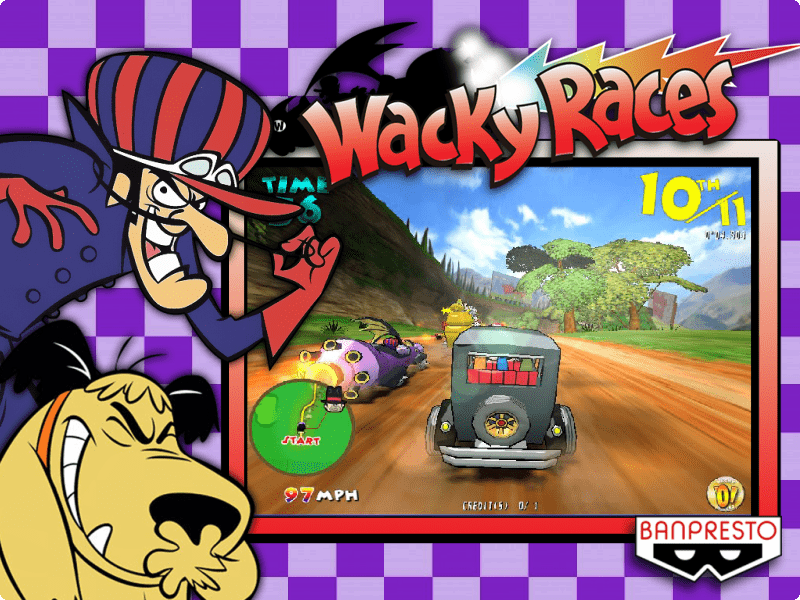 Wacky Races - (Taito Type X) - Game Themes (4:3) - HyperSpin