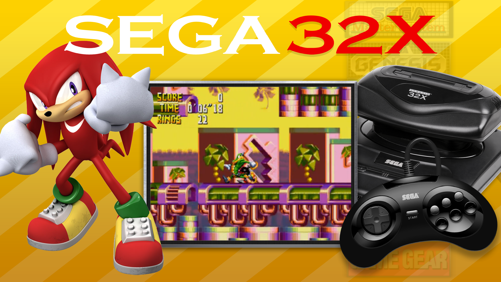 Sega 32X - Main Menu (16:9ST) - Main Menu Themes - HyperSpin