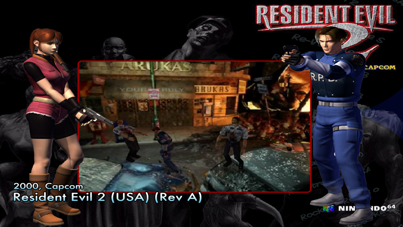 Resident Evil 2 (USA) (Rev A) zip - Game Themes (4:3) - HyperSpin Forum