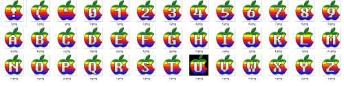 Apple II - Letter Pack