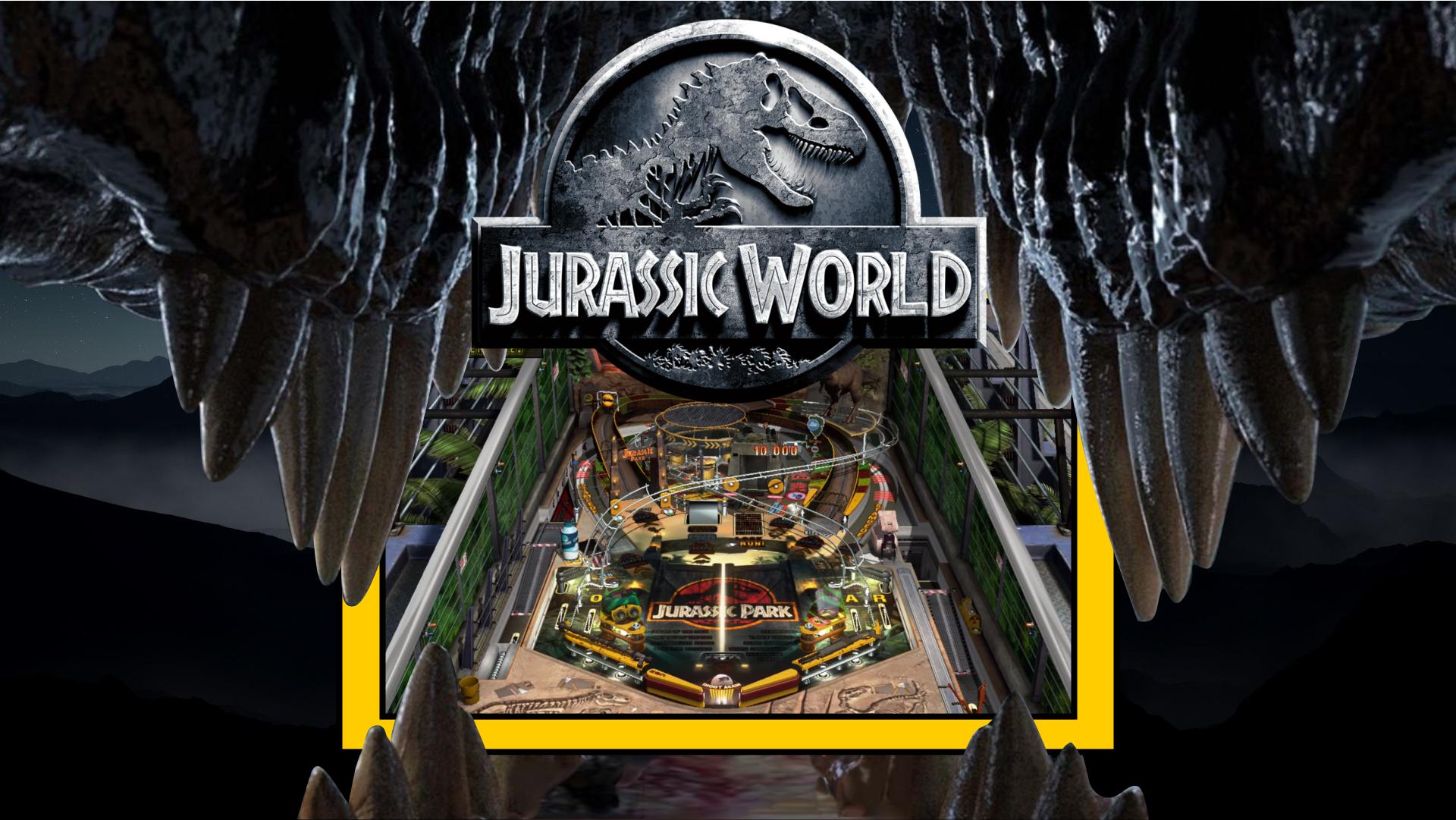 Jurassic World (Pinball FX3) 16x9 - Game Themes (16:9ST
