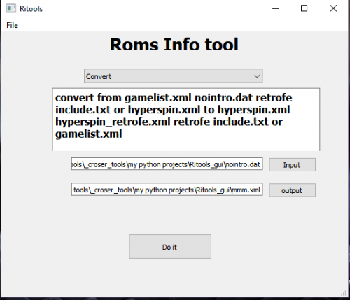 Rom Info Tools - 3rd Party Apps - HyperSpin Forum