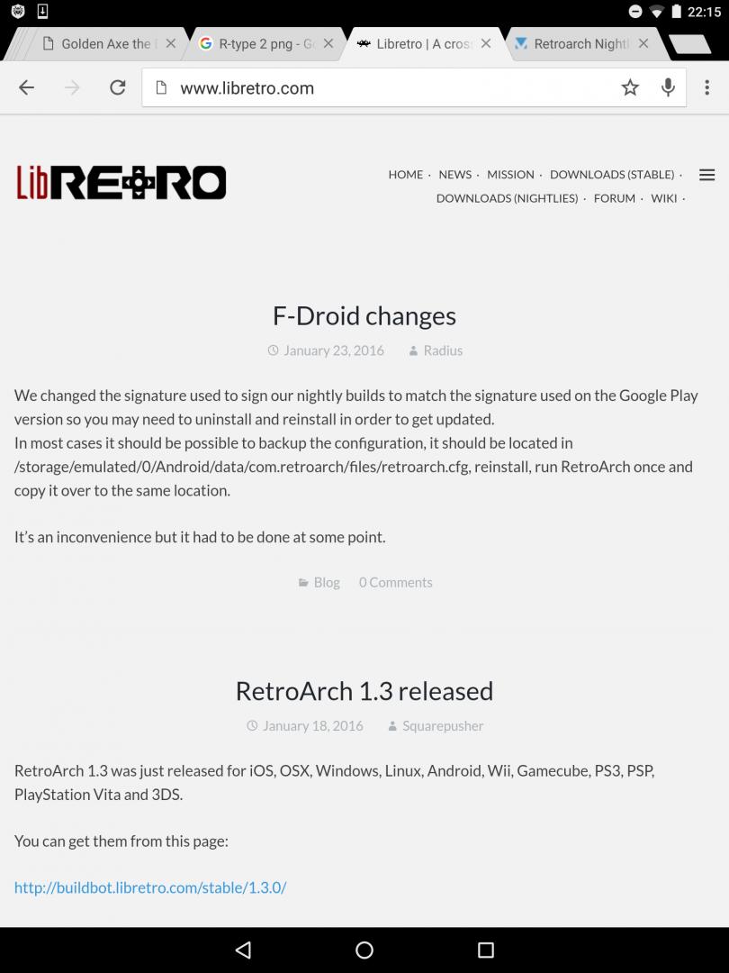 Retroarch Nightly Tips & Tweaks - Android Emulators - HyperSpin Forum
