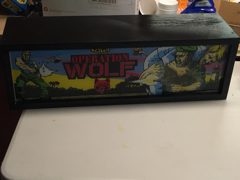 Custom Operation Wolf Themed Light Gun Cabinet - Cabinets