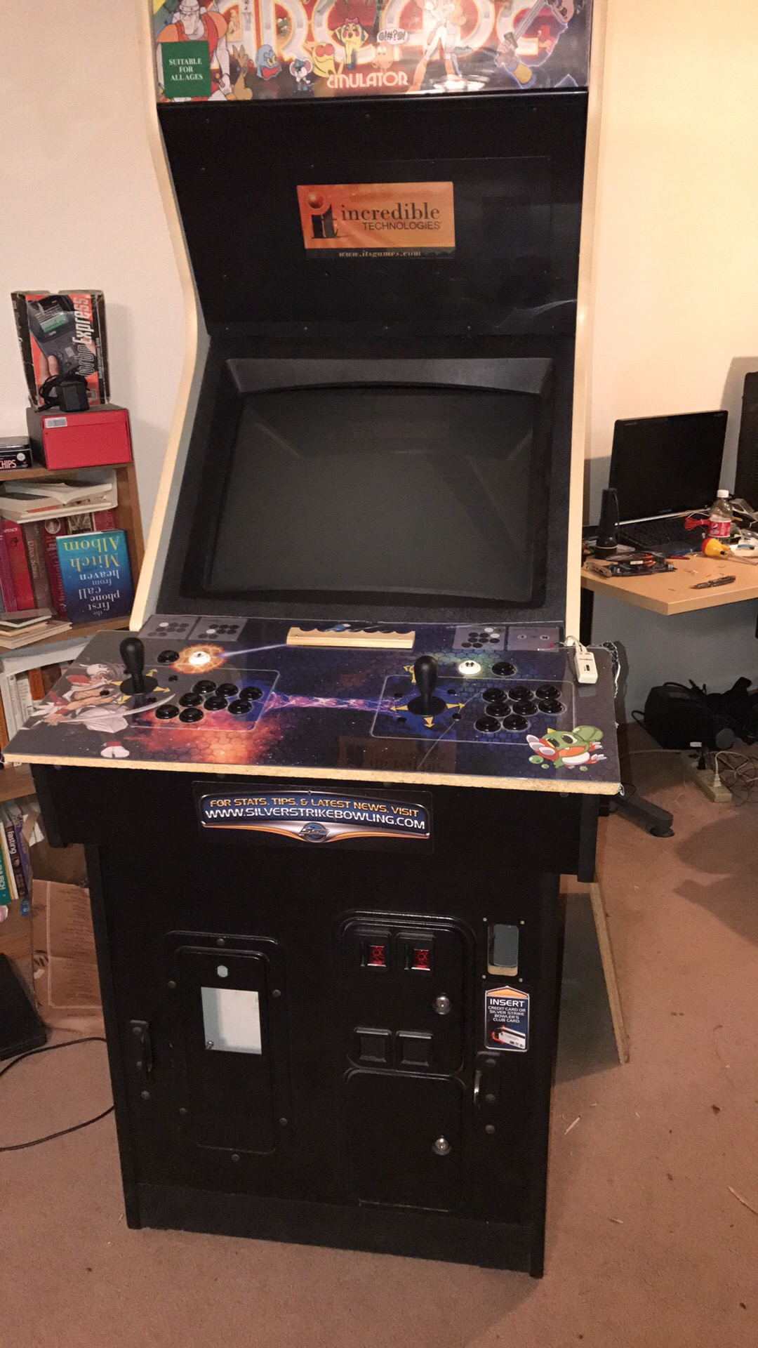 Work so far (updated 7/5/2017) - Cabinets and Projects - HyperSpin Forum