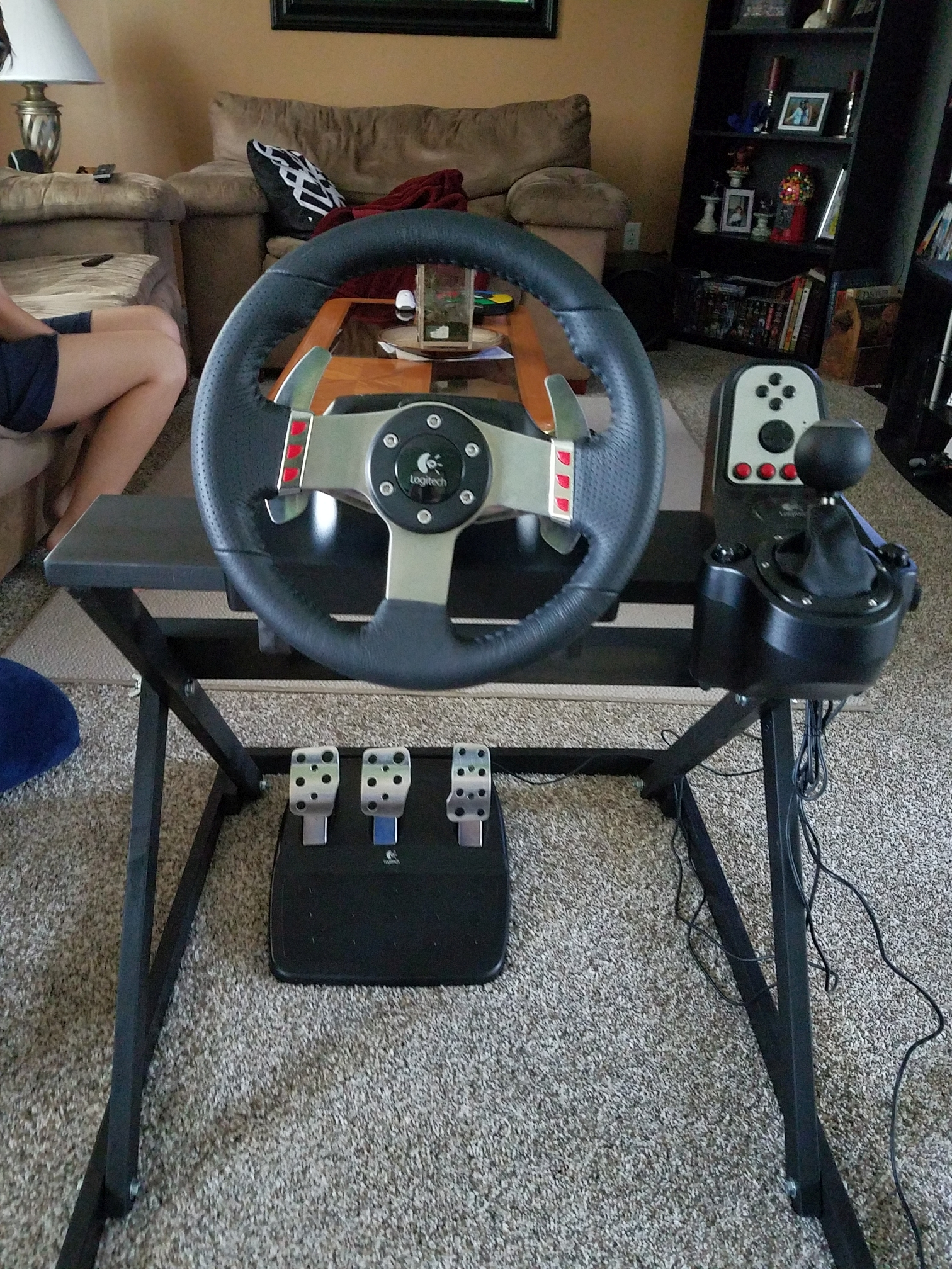 Collapsible Gaming Wheel Stand Cabinets And Projects Hyperspin Forum