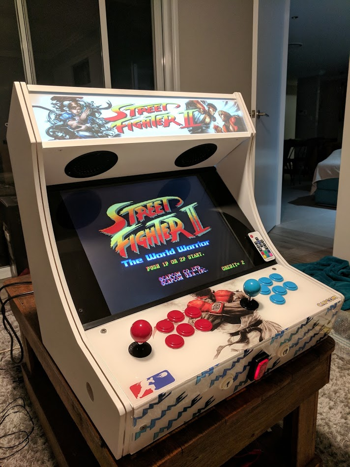 Hacked arcade button to power up cabinet sets off Dell alert